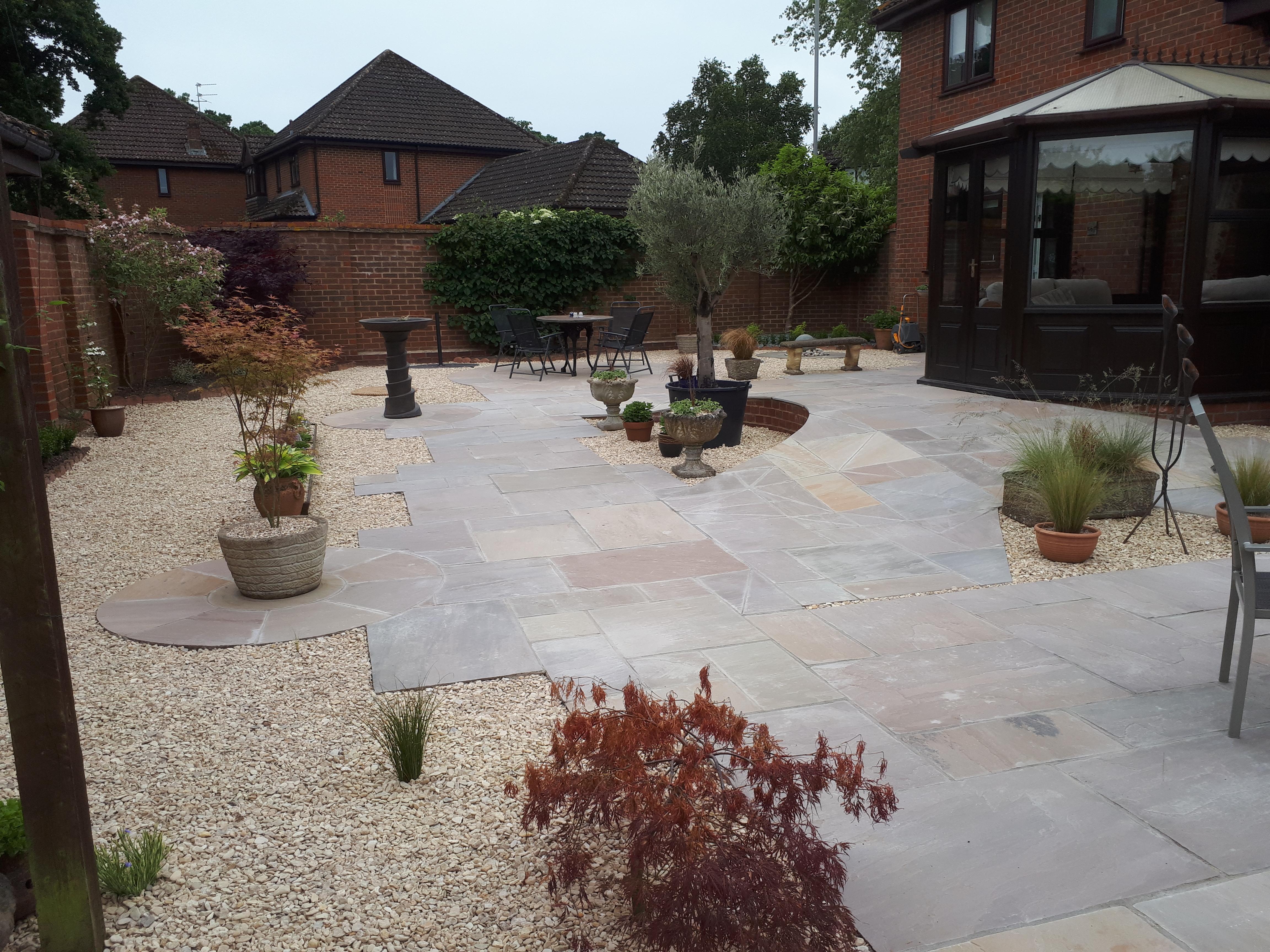 Mobility friendly garden design in Gillingham